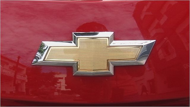 New Chevrolet logo
