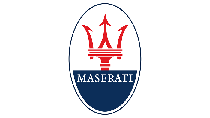 current maserati logo design