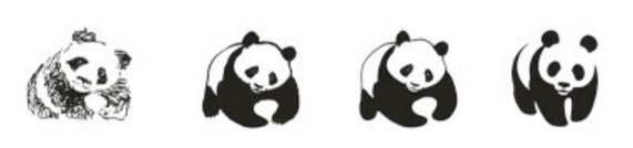 WWF logo evolution