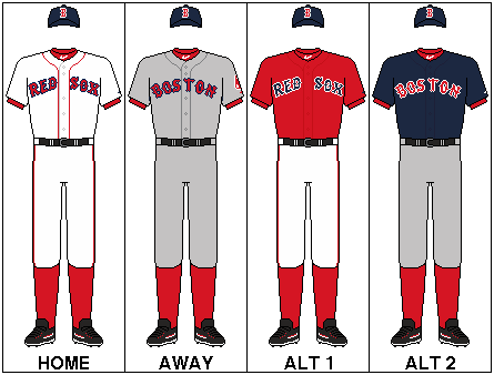 Red Sox logo Uniforms