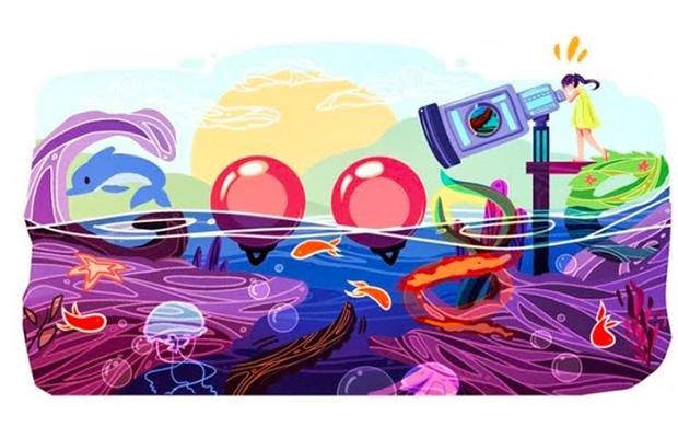 Example of Google Doodle