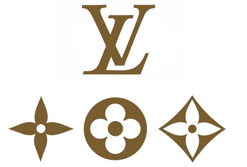 louis vuitton logo color