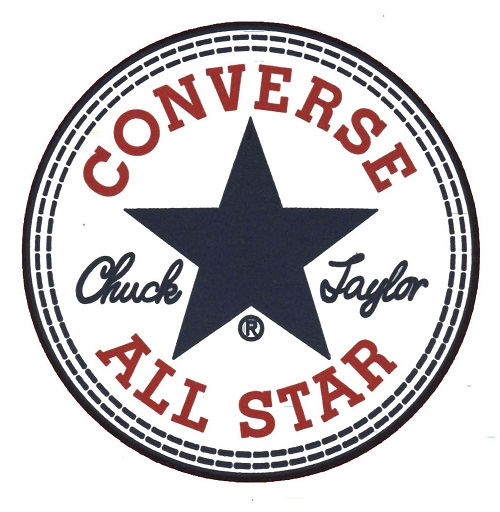 converse logo patch
