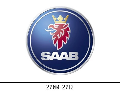 Saab new logo design