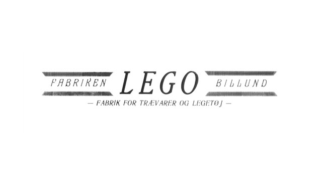 original black and white lego logo